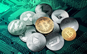 Preview wallpaper Bitcoin, Coin, Money