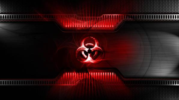 HD Wallpaper of Red machine tecnology