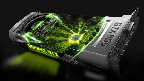 Обои видеокарта Nvidia GeForce GTX 980