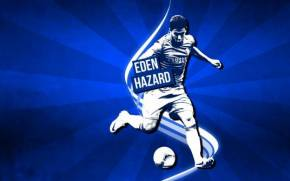 Смотреть обои Eden Hazard, Chelsea FC, Blues, ФК Челси