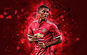Preview wallpaper of Manchester United F.C., Marcus Rashford, Soccer
