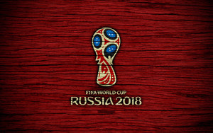 Preview wallpaper of FIFA, Logo, Soccer, Wooden, World Cup