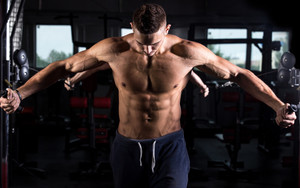 Preview wallpaper of Fitness, Man, Model, Sport