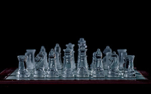 Preview wallpaper of Game, Chess, Glass Chess, Sport