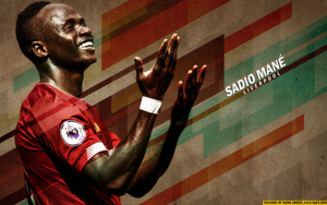 Preview wallpaper of Liverpool F.C., Sadio Mané, Senegalese
