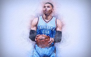 Preview wallpaper of NBA, Oklahoma City Thunder, Russell Westbrook