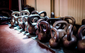 Preview wallpaper of Crossfit, Iron, Kettlebell, Sports