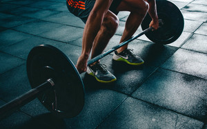 Preview wallpaper of Fitness, Man, Sport, Barbell