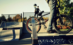 Preview wallpaper of sport, people, bmx, bicycle
