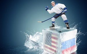 Preview wallpaper of Hockey, Ice Cube, Man, Sport