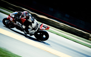 Preview wallpaper of Motorcyclist, Motor Sport, Movement