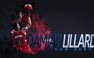 Смотреть обои Basketball, NBA, Sub Zero, Lillard