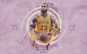 Preview wallpaper of Basketball, LeBron James, Los Angeles Lakers, NBA
