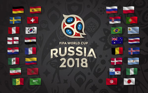 Preview wallpaper of FIFA, World Cup, Country Flags