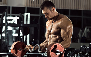 Preview wallpaper of Bodybuilder, Gym, Muscle, Weightlifting
