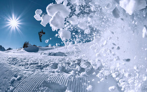 Preview wallpaper of Snowboarding, Winter, Snow