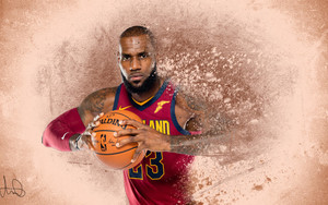 Смотреть обои Basketball, Sports, LeBron James