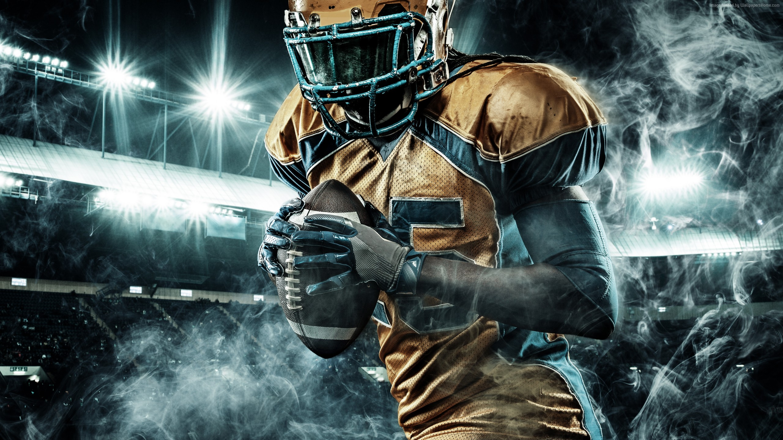 American Football Wallpapers Maker Pro: Wallpaper Of Rugby, American Football, Smoke Background