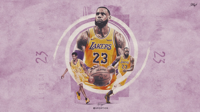 Wallpaper of Basketball, LeBron James, Los Angeles Lakers, NBA background & HD image