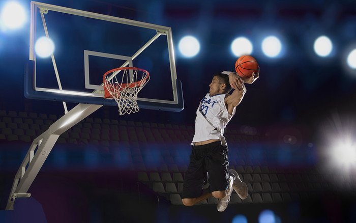 Wallpaper of Sports, Basketball, Jump, Dunk, Ball background & HD image