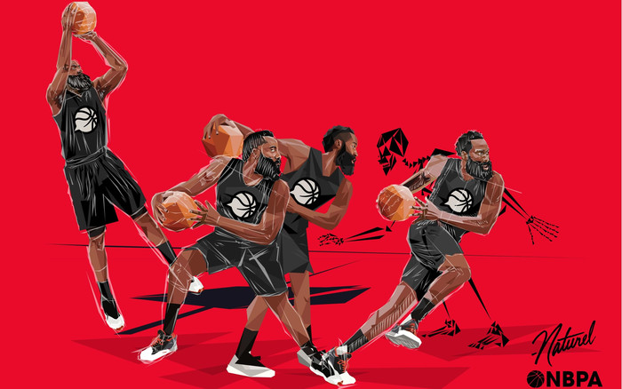 Wallpaper of Sports, James Harden, Art, Basketball background & HD image