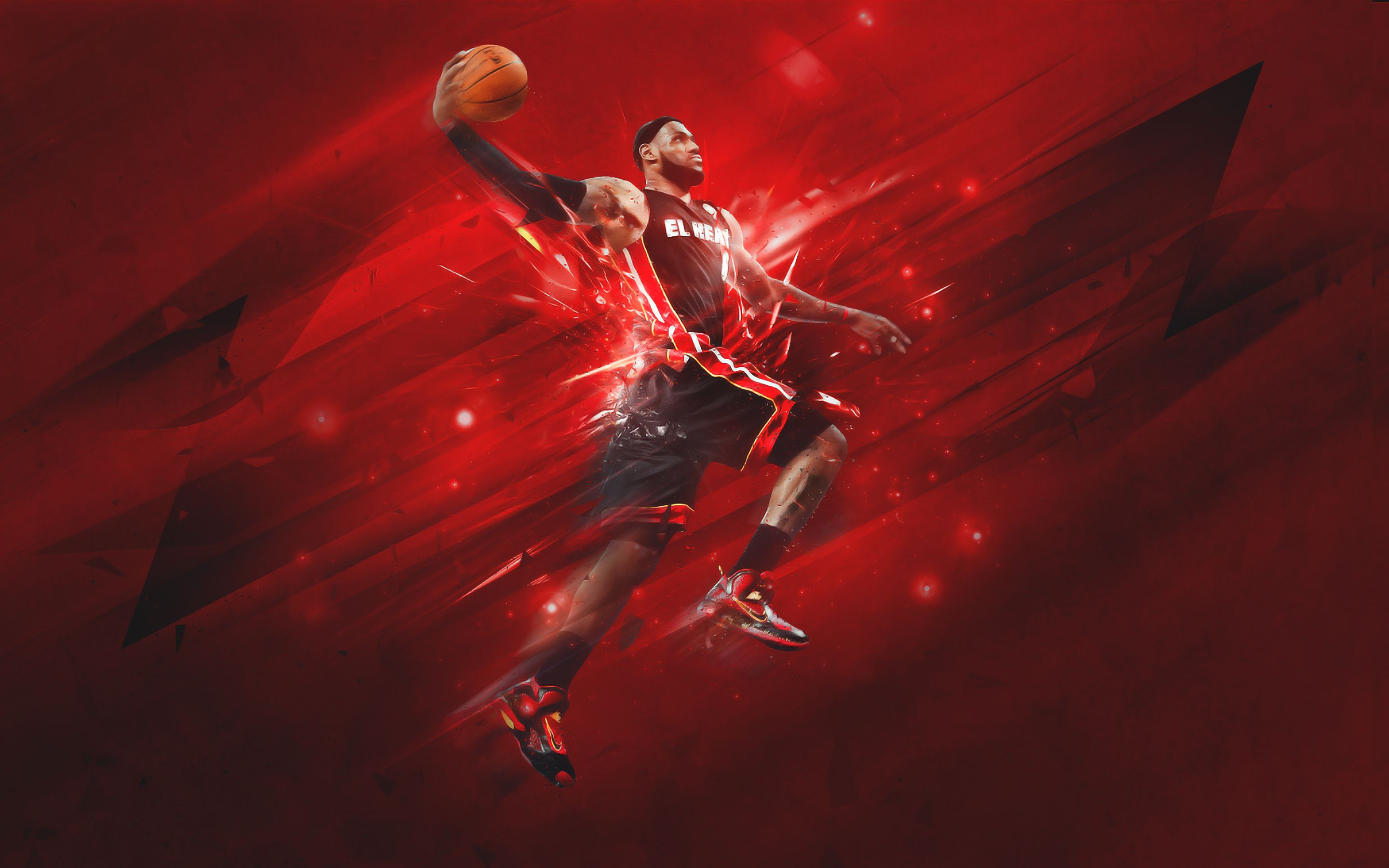 Wallpaper Of Lebron James Miami Heat Background Hd Image