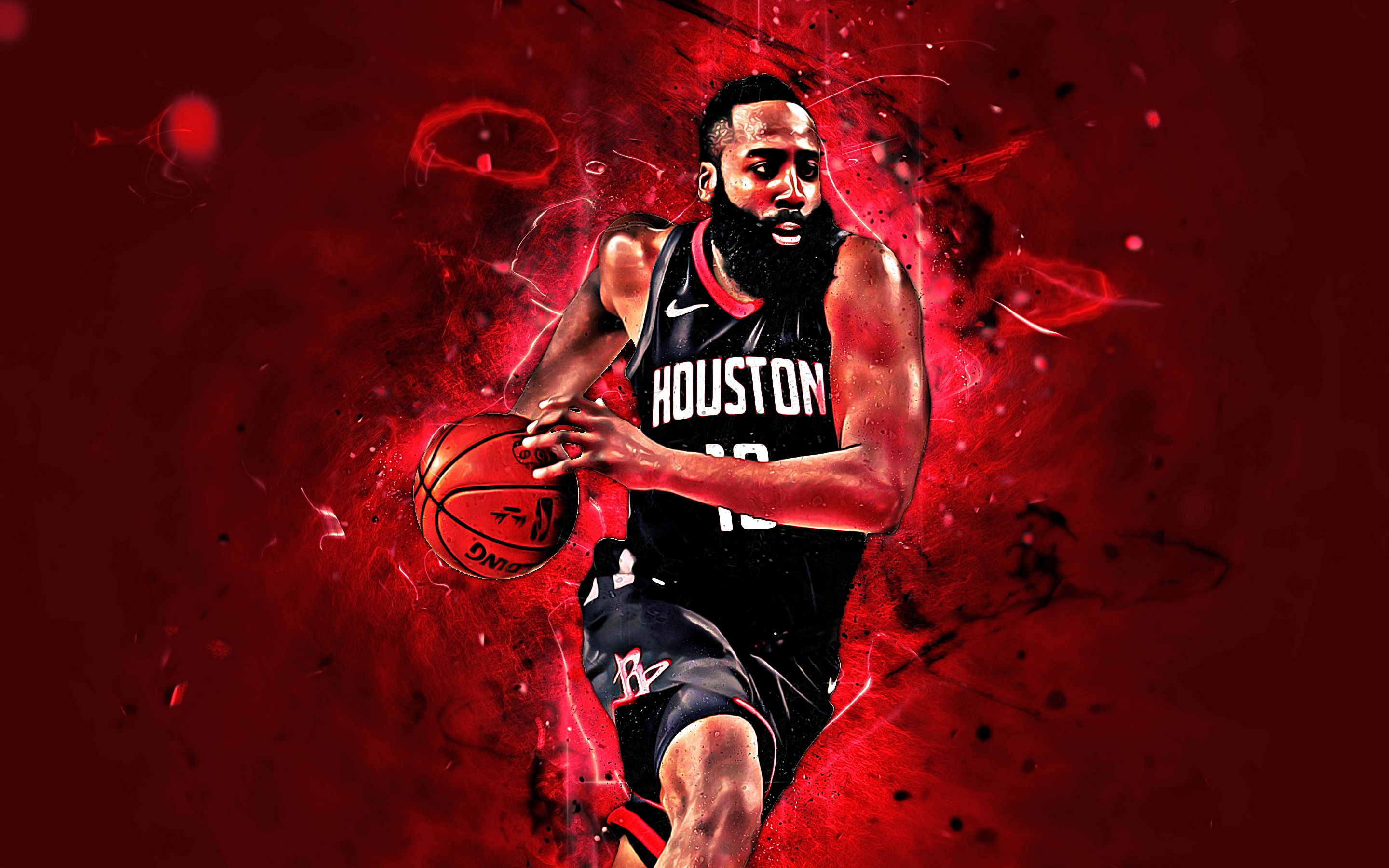 Wallpaper of Basketball, Houston Rockets, James Harden, NBA background & HD image