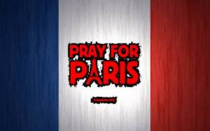 Preview wallpaper of Pray For Paris, France