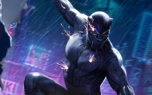 Preview wallpaper of Comics, Black Panther, Marvel Comics