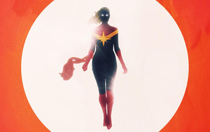 Preview wallpaper  <b>Movie</b>, Captain Marvel, Shine