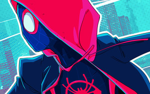 Preview wallpaper  Miles Morales, <b>Spider</b>-<b>Man</b> Into The <b>Spider</b>-Verse