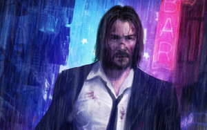 Preview wallpaper John Wick, Keanu Reeves, Movie