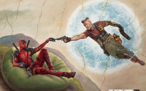 Смотреть обои DeadPool 2, Marvel, Fan-Art, Comics