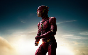 Смотреть обои Ezra Miller, Flash, Movie, Justice League