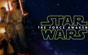 Смотреть обои Star Wars: Episode VII - The Force Awakens, герои
