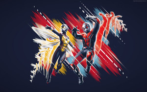 Смотреть обои Ant-Man and the Wasp, Poster