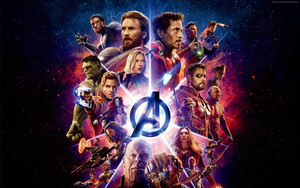 Смотреть обои Avengers. Infinity War, Marvel, All heroes