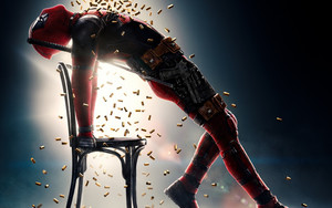 Смотреть обои Ryan Reynolds, DeadPool 2, Cases, Chair