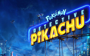 Preview wallpaper of Pokémon Detective Pikachu, Pika, Movie, Poster