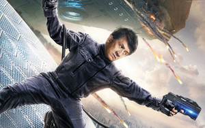 Смотреть обои Bleeding Steel, Jackie Chan, Poster