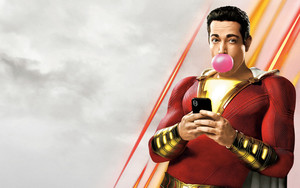 Preview wallpaper of Shazam, Shazam!,  Zachary Levi, Movie, Poster