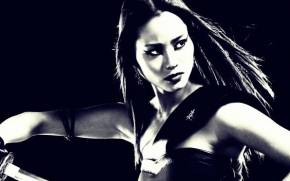 Смотреть обои Sin City:A Dame to Kill For, Jamie Chung, Miho
