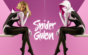 Preview wallpaper of Gwen Stacy, Spider-Gwen, Movie, Marvel, Comics