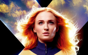 Preview wallpaper Marvel, Comics, Redhead, Sophie Turner, X-Men