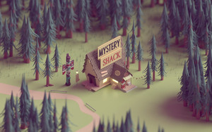 Preview wallpaper of Mystery Shack, Gravity Falls, TV Shows, Movie