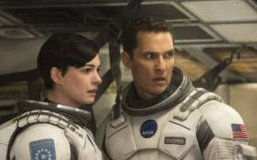 Смотреть обои Interstellar, Matthew McConaughey, Anne Hathaway