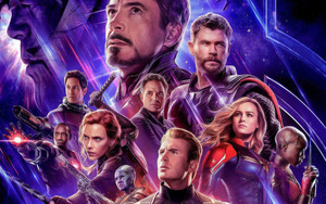 Preview wallpaper of Marvel, Poster, Movie, Avengers, Endgame, Heros