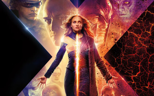 Preview wallpaper of Movie, Poster, Dark Phoenix, Sophie Turner