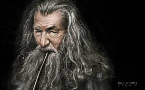 Смотреть обои Маг Gandalf (Гэндальф) от Paul Shipper studio