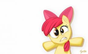 Смотреть обои My little pony, пони, Apple Bloom, MysticAlpha